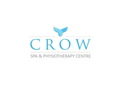 Logo CROW SPA & Physiotherapy Centre realizacje Realizacje Crow Logo 400x284