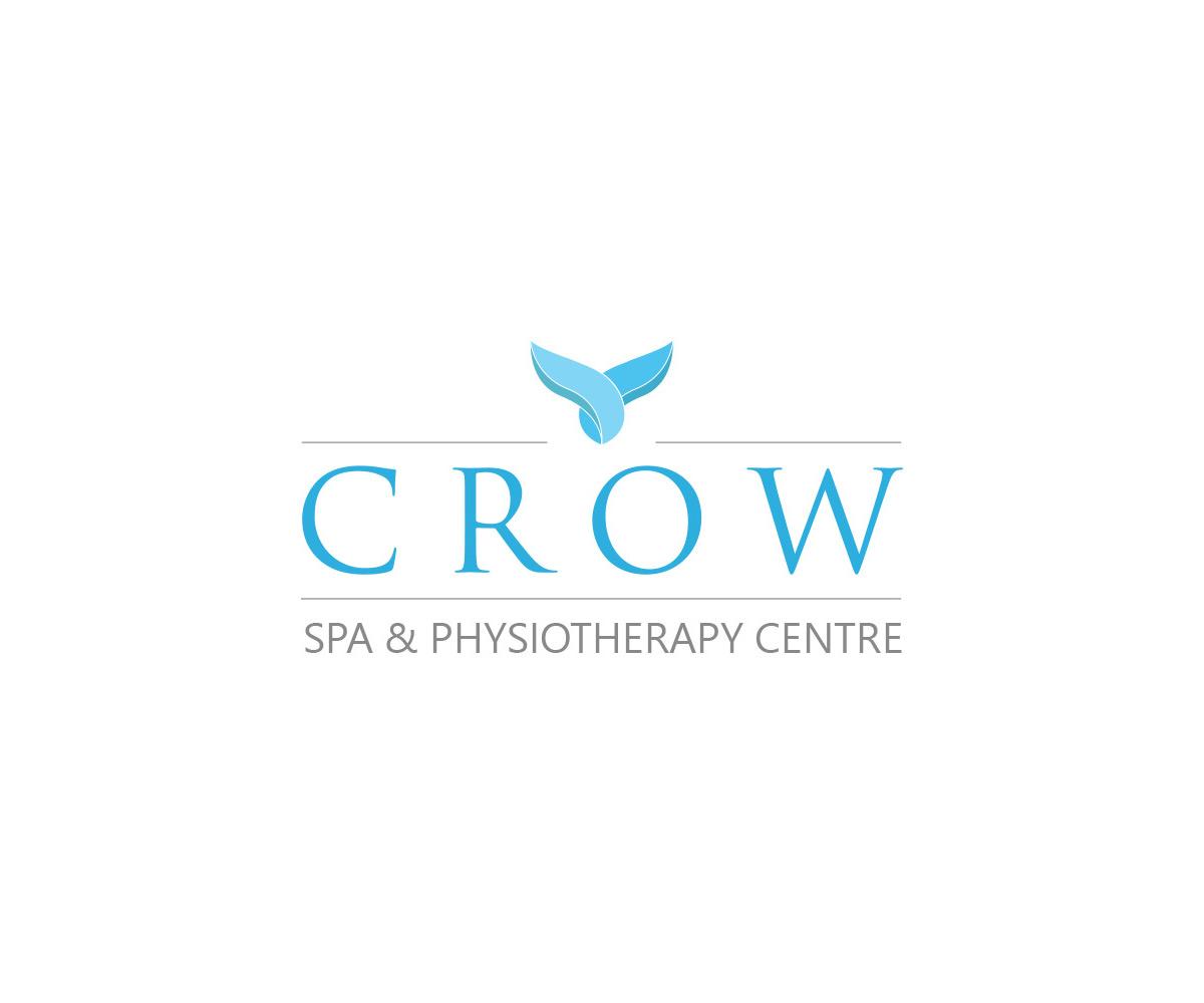 Logo CROW SPA & Physiotherapy Centre realizacje Realizacje Crow Logo
