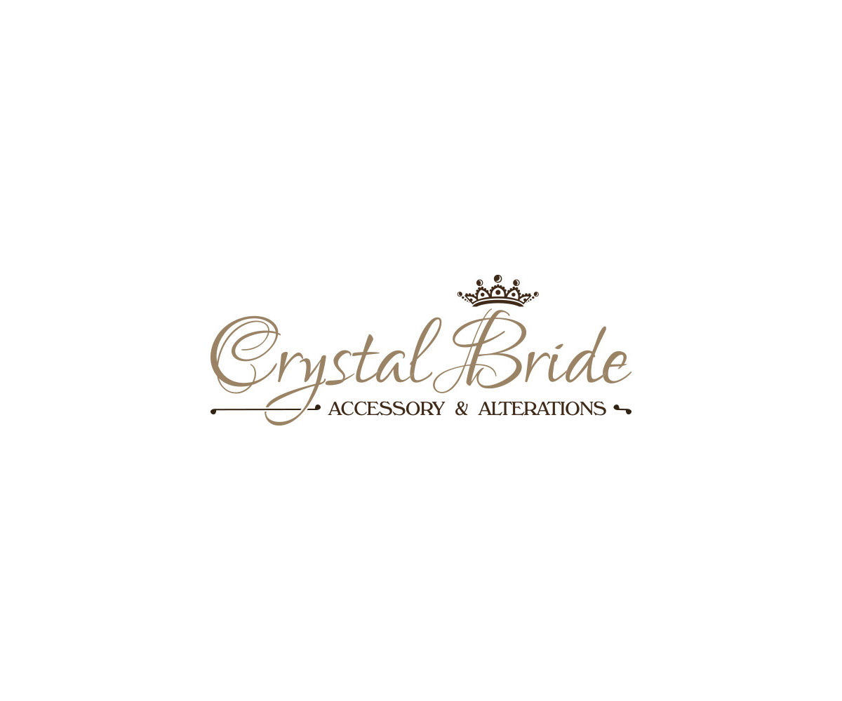 Logo Crystal Bride - Accessory & Alterations realizacje Realizacje Crystal Bride Logo