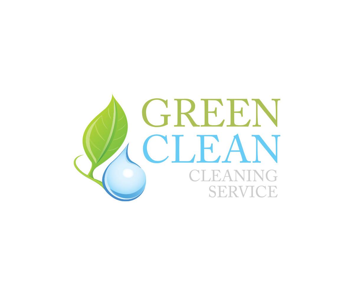 Logo Green Clean realizacje Realizacje Green Clean Logo