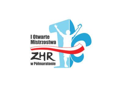 Logo Otwartych Mistrzostw w Półmaratonie realizacje Realizacje I Otwarte Mistrzostwa Bieganie Logo 400x284