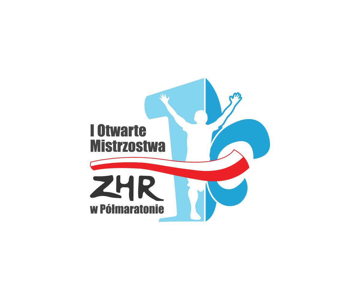 Logo Otwartych Mistrzostw w Półmaratonie realizacje Realizacje I Otwarte Mistrzostwa Bieganie Logo