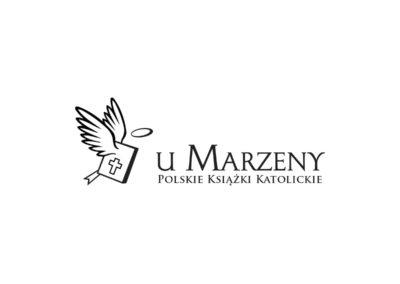 Logo Księgarni Marzena - Polskie Książki Katolickie realizacje Realizacje Ksiegarnia Marzena Logo 400x284