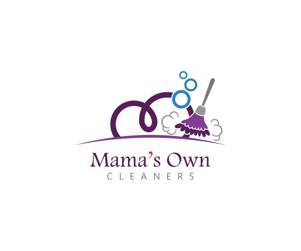 Logo Mama's Own Cleaners realizacje Realizacje MOC Logo