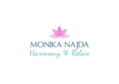 Logo Harmony & Relax realizacje Realizacje Monika Najda Logo 400x284