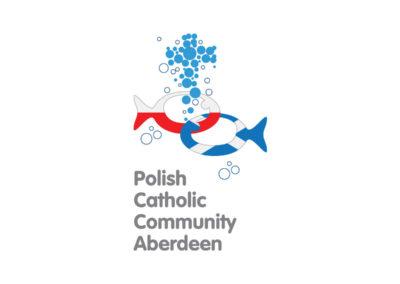 Logo Polish Catholic Community Aberdeen realizacje Realizacje PCC Aberdeen Logo 400x284