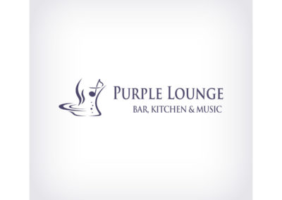 Logo Purple Lounge realizacje Realizacje Purple Lounge Logo 400x284