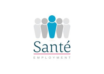 Logo Sante Employment realizacje Realizacje Sante Logo 1 400x284