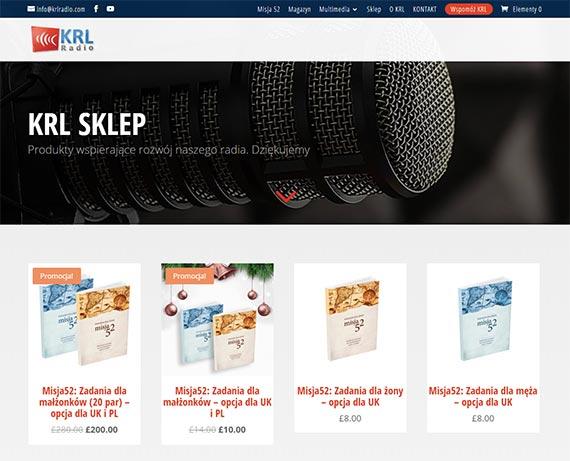 realizacje Realizacje radio krl 570 sklep 1